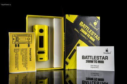 Бокс мод Smoant Battlestar ТС 200W