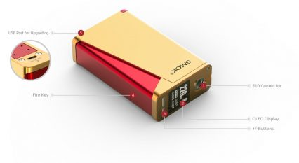 Парогенератор Smok H-Priv Pro Kit 220 W TC (TFV8 Big Baby Tank)