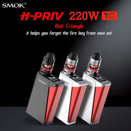 Парогенератор Smok H-PRIV Kit 220 W TC Micro TFV4 Tank