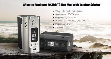 Бокс мод WISMEC Reuleaux RX 300