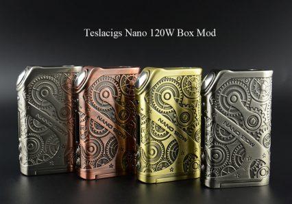 Боксмод Teslacigs Steampunk Nano 120W TC