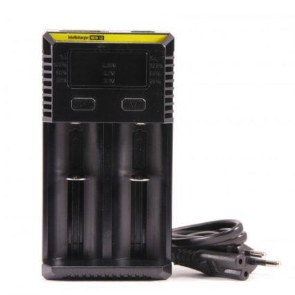 Зарядное устройство NITECORE New i2 с дисплеем на 2 батареи