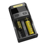 Зарядное устройство NITECORE SC2 с дисплеем на 2 батареи