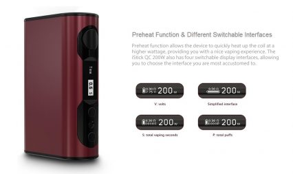 Парогенератор Eleaf iStick QC 200W (Melo 300)
