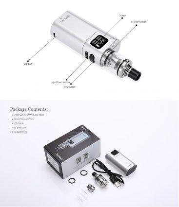 Парогенератор Smok G80 W TC (Spirals Tank)