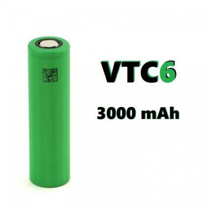 Аккумулятор SONY 18650 VTC6 3000 mAh 30А 3.7V