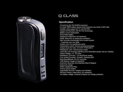 Бокс мод SX mini Q Mini 200 W