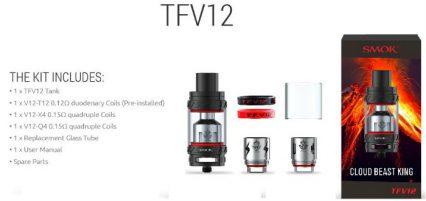 Атомайзер SMOK TFV12