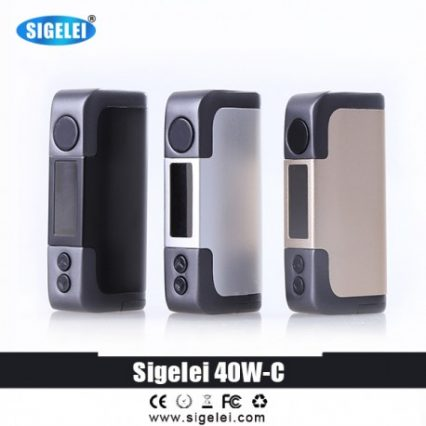 Парогенератор Sigelei 40 W C Kit TC (X-Tank) 3000мАh