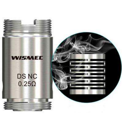 Испаритель WISMEC DS NC coil (0.25 Ohm)