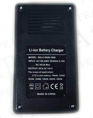 Зарядное устройство VTG-C2 (на 2 батареи)