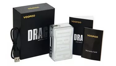 Бокс мод VOOPOO Drag 157W (Акрил)