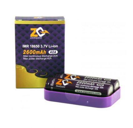 Аккумулятор 18650 Zest Quest 2600mAh 40A