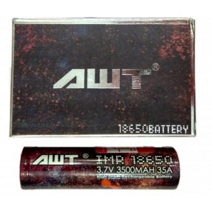 Аккумулятор AWT IMR 18650 3500mAh 35A
