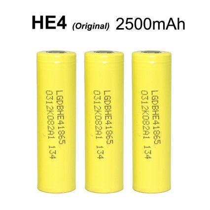 Аккумулятор LG 18650/HE4 2500mAh 35А