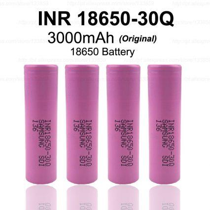 Аккумулятор SAMSUNG 18650/30Q 3000mAh 15А