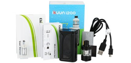 Парогенератор Eleaf iKuun i200 Kit with Battery 4600mAh