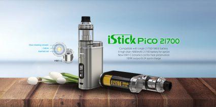 Парогенератор Eleaf iStick Pico 21700 100W kit c АКБ
