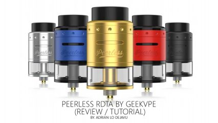 Бакодрипка Peerless RDTA  24mm cl
