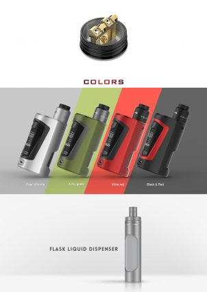 Парогенератор Geek Vape GBOX Squonker 200w Kit