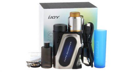 Парогенератор iJOY Capo Squonk 100w+Combo RDA Triangle Kit with one 20700