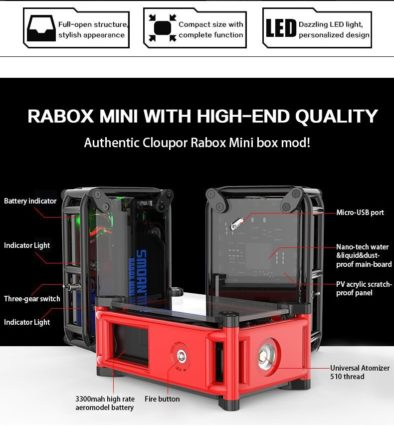 Бокс мод Smoant Rabox Mini 120w