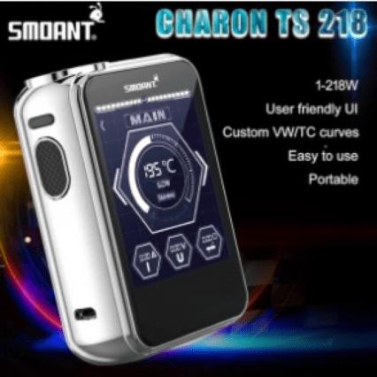 Бокс мод Smoant Charon TS218