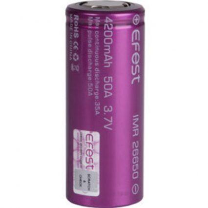Аккумулятор Efest IMR26650 4200mah-50A