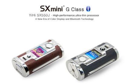 Бокс-мод YIHI SX550J SXmini G Class 200W