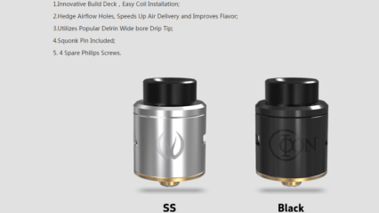 Дрипка VANDY VAPE ICON 24мм RDA