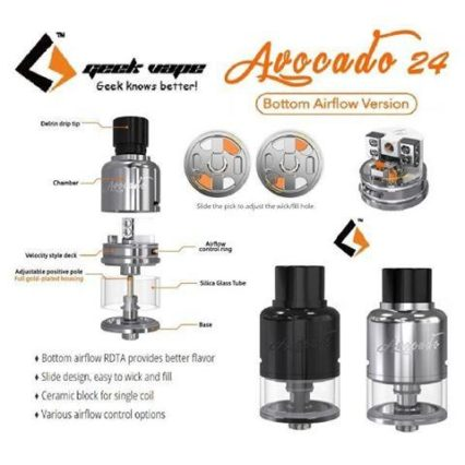 Бак Geek Vape Avocado 24 bottom airflow cl