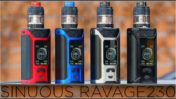 Парогенератор Wismec Ravage 230+ Gnome Evo 4ml Kit