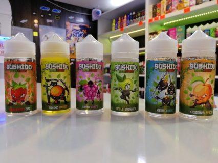 Жидкость BUSHIDO 3 мг/ 100 мл
