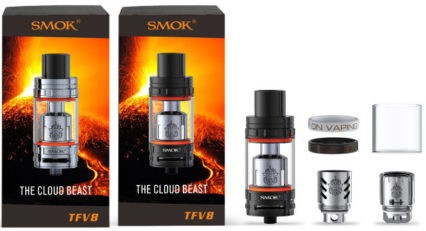 Клиромайзер SMOK TFV8 CLOUD BEAST cl
