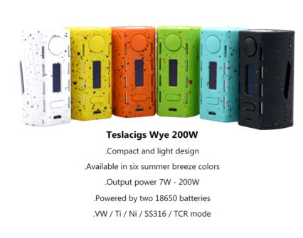 Бокс мод Tesla Teslacigs Wye 200W