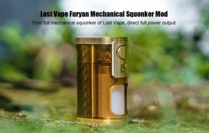Бокс мод Lost Vape Furyan Squonker Mod