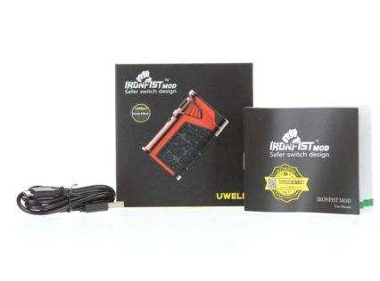 Бокс мод UWELL Ironfist 200W Mod