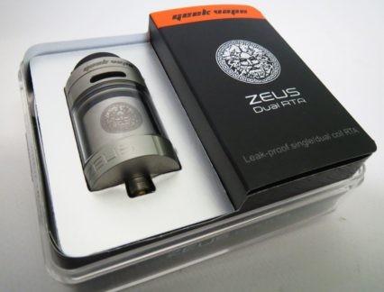 Атомайзер Geek Vape Zeus Dual RTA