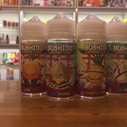 Жидкость BUSHIDO Lemonade Crash 100 мл