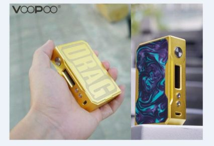 Бокс мод VOOPOO Gold Drag 157W