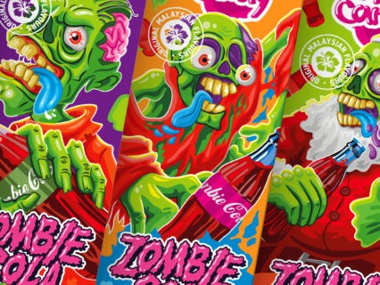 Жидкость Zombie Cola 120ml