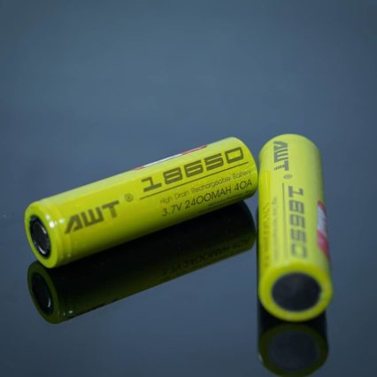 Аккумулятор 18650 AWT 2400mAh 40A