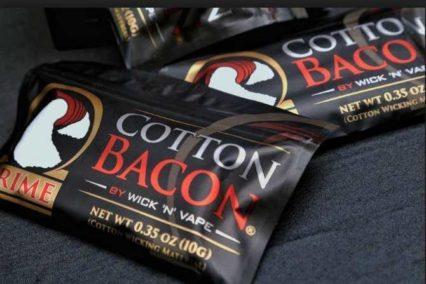 Хлопковая вата Wick'N'Vape cl Cotton Bacon Prime