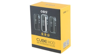 Бокс мод OBS Resin Version CUBE VW 3000mAh 80W