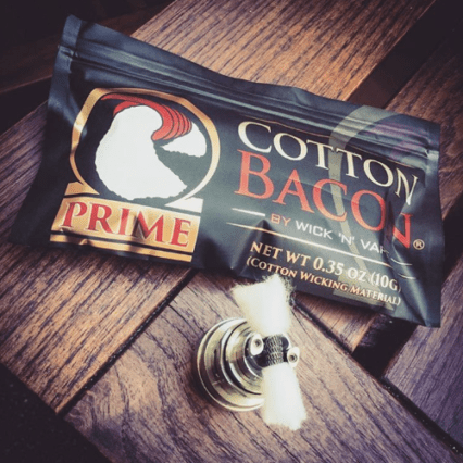 Хлопковая вата Wick'N'Vape cl Cotton Bacon Prime