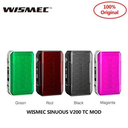 Бокс мод WISMEC SINUOUS V200 200W