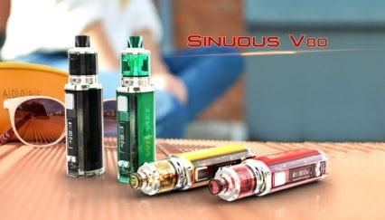 Бокс мод WISMEC SINUOUS V80 80W