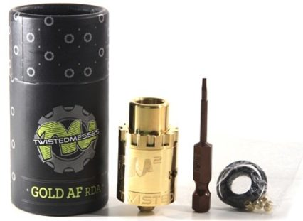 Дрипка TWISTED MESSES GOLD AF RDA cl