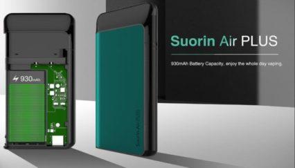 Парогенератор Suorin Air Plus 930mAh Pod Kit