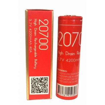 Аккумултор AWT 20700 4200mAh 40A